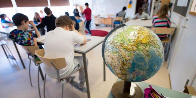 Ett klassrum/arkivbild.  FREDRIK SANDBERG / TT / TT NYHETSBYRÅN