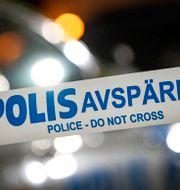 Polistejp. Arkivbild. Johan Nilsson/TT / TT NYHETSBYRÅN