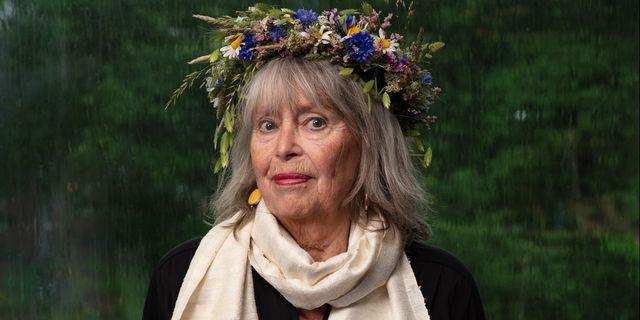 Författaren Agneta Pleijel. Mattias Ahlm/Sveriges Radio