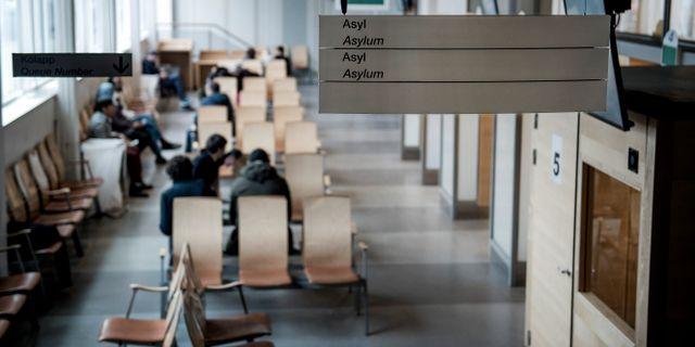 Väntsal på Migrationsverket/arkiv. Marcus Ericsson/TT / TT NYHETSBYRÅN