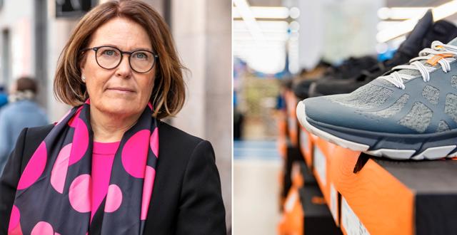 Karin Johansson, vd på Svensk Handel. Svensk Handel