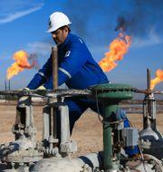 Illustrationsbild: Oljearbetare i Irak. Nabil al-Jurani / TT / NTB Scanpix