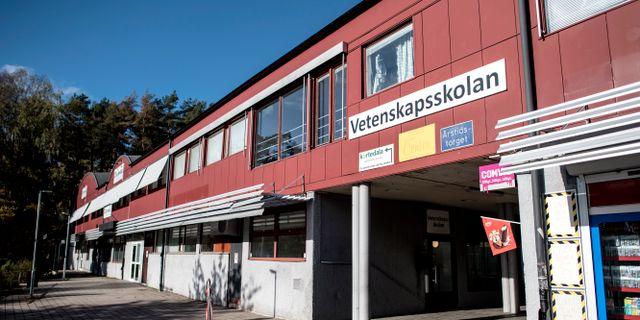 Vetenskapsskolan i Kortedala.  Björn Larsson Rosvall/TT / TT NYHETSBYRÅN