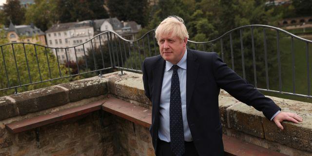 Boris Johnson. POOL / TT NYHETSBYRÅN