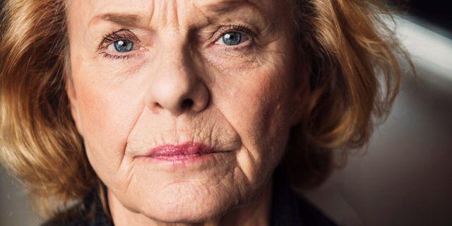 Skådespelaren Marie Göranzon. Robin Haldert / TT / TT NYHETSBYRÅN