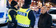 Justitieminister Morgan Johansson möter poliser i Malmö. Johan Nilsson/TT / TT NYHETSBYRÅN