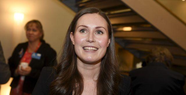 Sanna Marin.  Vesa Moilanen / TT NYHETSBYRÅN