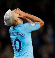Manchester Citys Sergio Aguero. Phil Noble / TT NYHETSBYRÅN