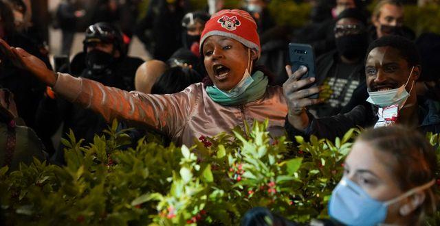 Demonstrationer i Washington John Minchillo / TT NYHETSBYRÅN