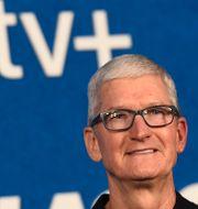 Apples vd Tim Cook. Jordan Strauss / TT NYHETSBYRÅN