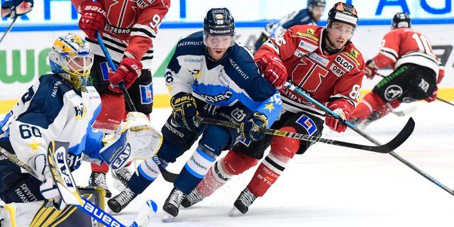 HV71 slog Örebro. Mikael Fritzon/TT / TT NYHETSBYRÅN