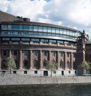 Riksdagshuset i Stockholm. Henrik Montgomery/TT / TT NYHETSBYRÅN
