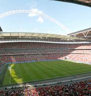 EM-finalen ska spelas på Wembley i London. Paul Harding / TT NYHETSBYRÅN