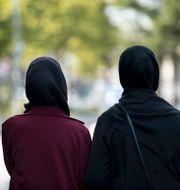 Arkivbild, kvinnor i hijab.  Johansen, Carina / TT NYHETSBYRÅN