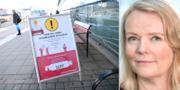 Eva Östblom.  TT/Södersjukhuset.
