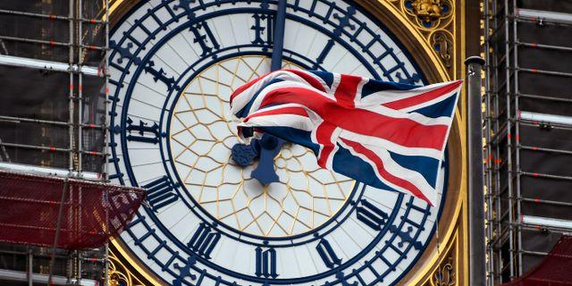Big Ben-klockan i London. Alberto Pezzali / TT NYHETSBYRÅN