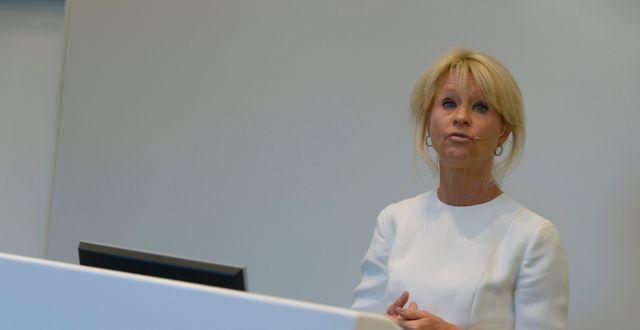 SEB:s vd Annika Falkengren. TT