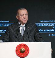 Erdogan TT NYHETSBYRÅN