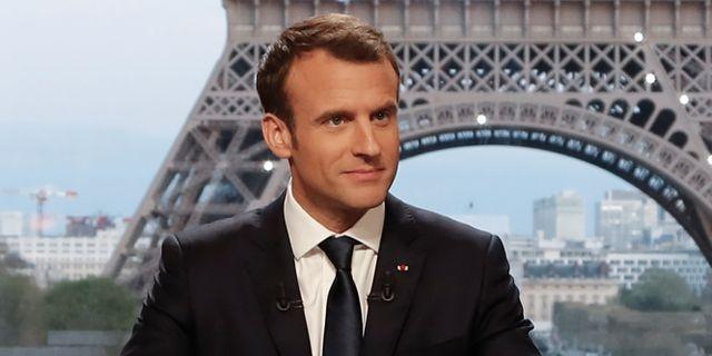 Emmanuel Macron.  FRANCOIS GUILLOT / POOL