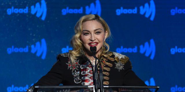 Madonna  Evan Agostini / TT NYHETSBYRÅN/ NTB Scanpix