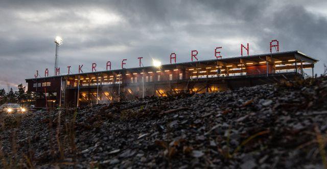 Jämtkraft Arena. Arkivbild. JOHAN AXELSSON / BILDBYRÅN