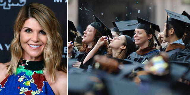 Skådespelaren Lori Loughlin, som är en av de misstänkta i härvan/Yalestudenter. TT