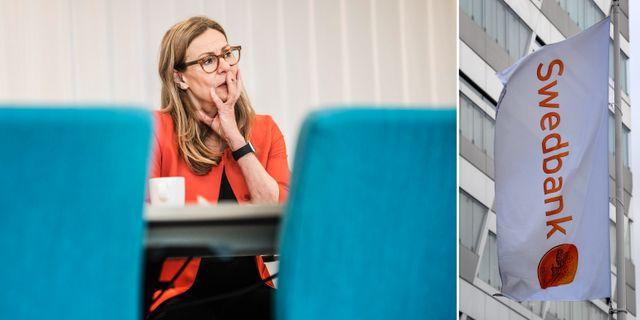 Birgitte Bonnesen, koncernchef för Swedbank  TT