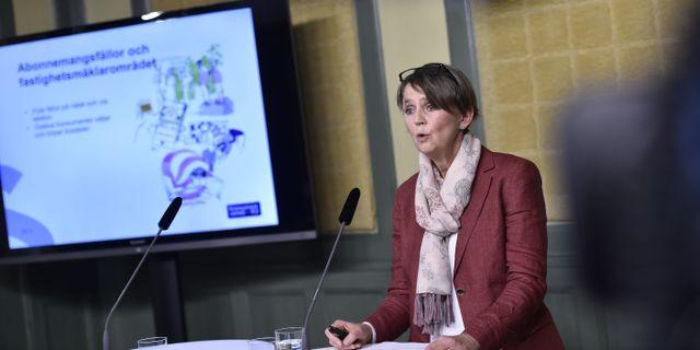 Cecilia Tisell. Arkivbild. Noella Johansson / TT NYHETSBYRÅN