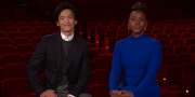 Skådespelarna John Cho och Issa Rae presenterade Oscarsnomineringarna. PRESS