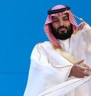 Saudiarabiens kronprins kronprins Mohammed bin Salman Ricardo Mazalan / TT NYHETSBYRÅN