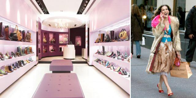 Carrie Bradshaw blir guide – gör shoppingturer i New York. Instagram