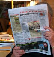 Aftonbladet och Expressen. TT