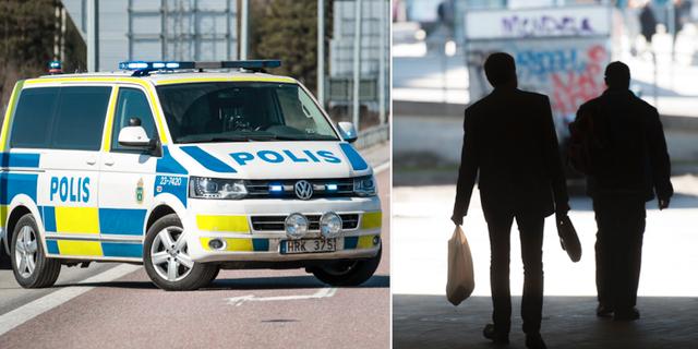 Arkivbild, polisbil i Örebro/illustrationsbild. TT
