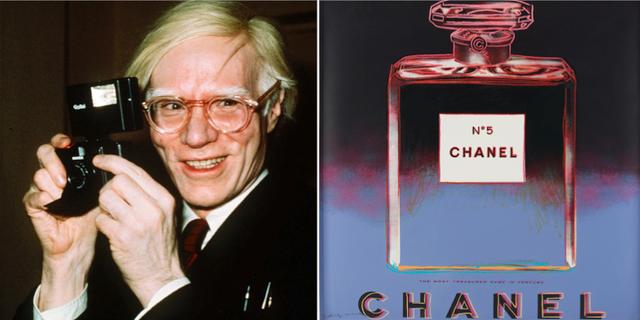 """Andy Warhol/""""Chanel"""" TT"""