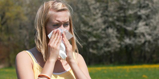 Enligt Astma- och allergiförbundet är det särskilt viktigt att ha en välbehandlad pollenallergi i år.  Colourbox