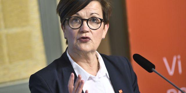 Katrin Westling Palm, ny generaldirektör för Skatteverket. Claudio Bresciani/TT / TT NYHETSBYRÅN