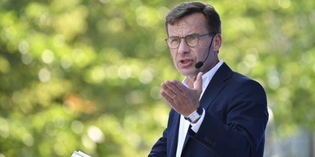 Ulf Kristersson (M). Anders Wiklund/TT / TT NYHETSBYRÅN