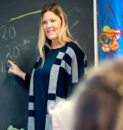 Illustraitonsbild på en lärare.  Kallestad, Gorm / TT NYHETSBYRÅN