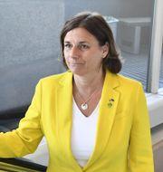 Isabella Lövin (MP).  Jessica Gow/TT / TT NYHETSBYRÅN