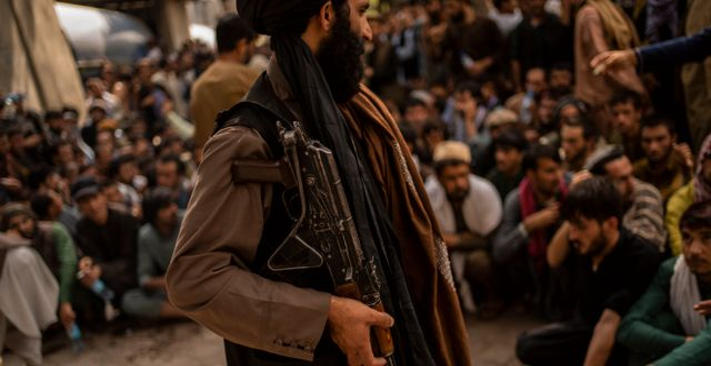 Talibaner i Kabul. Bernat Armangue / TT NYHETSBYRÅN