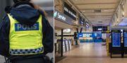Polisen kommenterar kritiken som bland annat riktades mot Malmö Airport.  TT