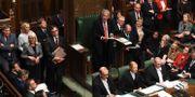 Bild från brittiska underhuset i september. JESSICA TAYLOR / TT NYHETSBYRÅN