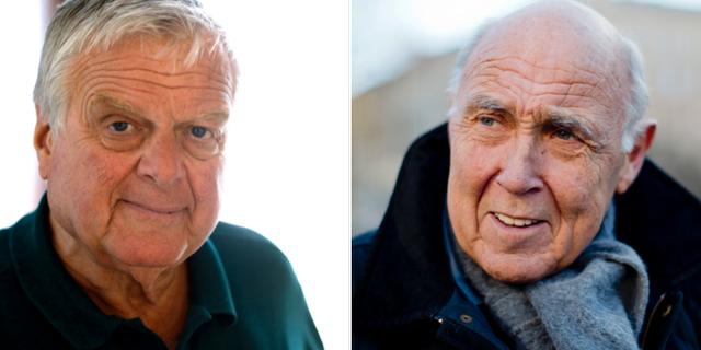 Tommy Engstrand och Ingvar Oldsberg. Arkivbilder. TT