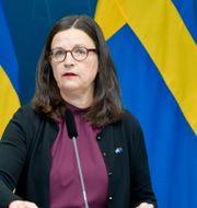 Anna Ekström Anders Wiklund/TT / TT NYHETSBYRÅN