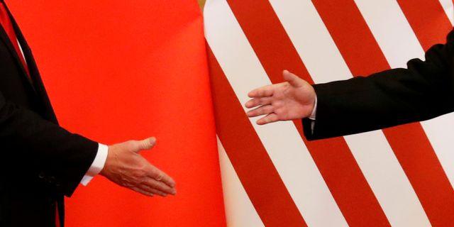 Illustrationsbild: USA:s president Donald Trump och Kinas president Xi Jinping vid sommarens möte i Peking.  Damir Sagolj / TT NYHETSBYRÅN