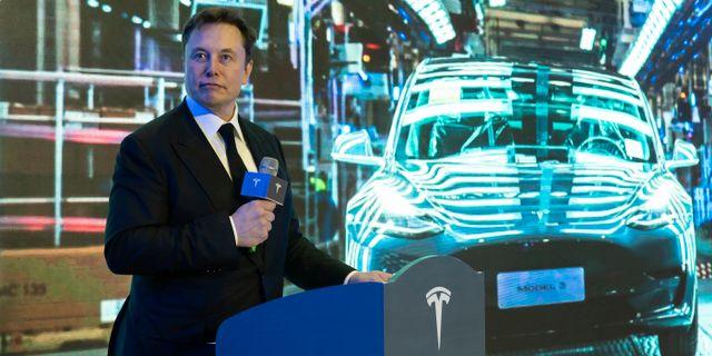 Elon Musk.  TT NYHETSBYRÅN