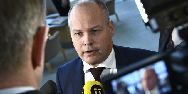 Morgan Johansson. Claudio Bresciani/TT / TT NYHETSBYRÅN