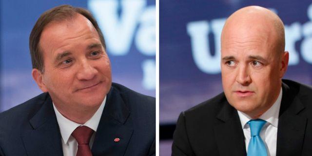 Reinfeldt oppnade for samtal med mp och s