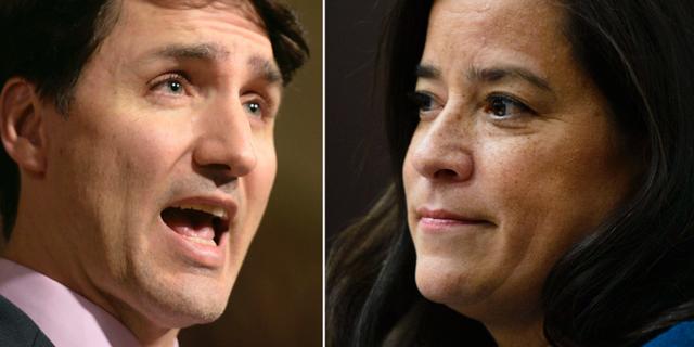 Justin Trudeau/Wilson-Raybould. TT