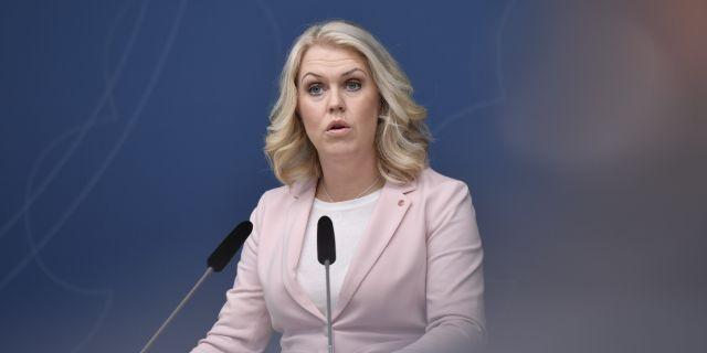 Lena Hallengren (S) Stina Stjernkvist/TT / TT NYHETSBYRÅN